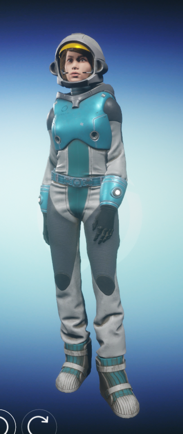 Astronaut Outfit 7 August 2017