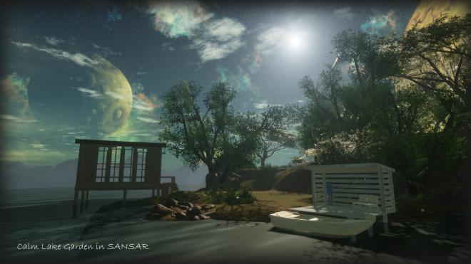 Calm Lake Garden Sansar 21 August 2017