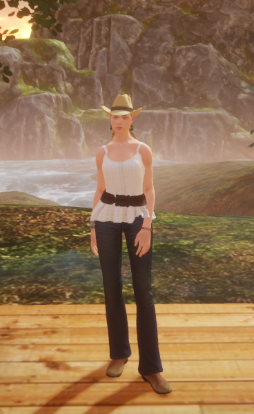 Outfit Outlay Cowgirl 2 August 2017