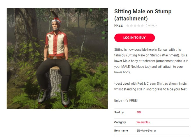 Sitting on a Stump Sansar Store 18 Nov 2017
